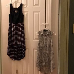 Bundle of 2 Forever 21 High-Low Dresses in Size S